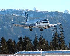 Alaska Airlines, travel, flights, milk run